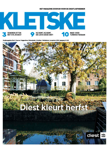 Cover Kletske editie 90 november 2019