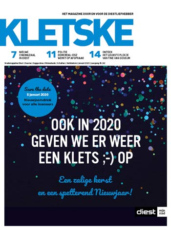 Cover Kletske editie 92 december 2019